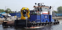 ShakeDog (1) @ KGV Lock 11-05-15 (AJBC_1) Tags: uk england london boat ship unitedkingdom vessel riverthames eastlondon gallionsreach northwoolwich newham workboat royaldocks multicat londonboroughofnewham marineengineering multipurposevessel cpbsmarineservices shakedog kgvlock dlrblog londonsroyaldocks ajc kinggeorgevlock