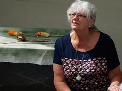 portrait (watcher330) Tags: woman crafts botanicgardenofwales
