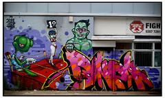 BINHO,BONZAI, TINHO & TIZER (StockCarPete) Tags: streetart londonstreetart wallart bonzai tizer graffiti binho tinho