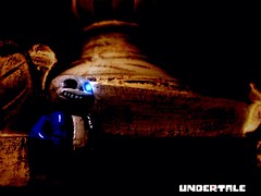 Do you wanna have a bad time? (Raiah82) Tags: dark skeleton corridor sans skelebros undertale sansundertale