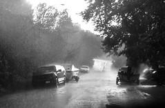 Freshener (TigerPal) Tags: saskatchewan lumsden rain monochrome blackwhite blackandwhite street storm town village rural weather