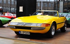 1970 Ferrari 365 GTB Daytona Spyder (Transaxle (alias Toprope)) Tags: classicremise meilenwerk dusseldorf nikon d90 dsseldorf auto autos amazing antique autostoriche 1970 ferrari 365 gtb daytona spyder conversion scappini bruttomesso colour giallo fly beauty bella beautiful bellamacchina cars car coches coche classic classics carros carro clasico clasicos design dreamcar exotics historic exotic iconic klassik kraftwagen kraftfahrzeuge legendary legend macchina macchine motorklassik power powerful retro rare soul styling sportscar sportcars toprope unique voiture vintage voitures veteran veterans vehicle