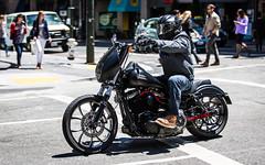(seua_yai) Tags: northamerica america usa california bayarea sanfrancisco thecity downtown urban people wheels street motorcycle motorbike candid lifeinthestreet sanfrancisco2016