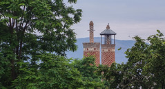 Shushi Damaged Minarets (Kachangas) Tags: armenia nagorno karabakh nagoronokarabakh artsakh armenian stepanakert shushi shusha caucasus war conflict azeribaijan