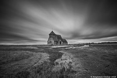 3 minutes (frattonparker) Tags: nikond5000 tamron1024mm raw adoberaw7 cs6 colorefexpro4 ononesoftware monochrome romneymarsh church longexposure nisi11stopndfilter nisi2000ndfilter remoterelease tripod frattonparker btonner
