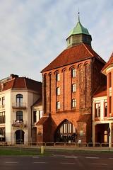 The New Gate in Supsk (Krzysztof D.) Tags: shiftn supsk pomorskie pomorze polska poland polen architecture architektura brama gate