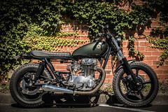 MOR_0459 (DamZs) Tags: color bike 50mm cafe nikon colorfull style full motorbike frame yamaha 650 xs fullframe 50 brat racer scrambler d600 d610