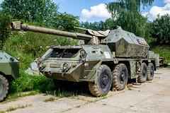 ShKH Dana self propelled howitzer gun (The Adventurous Eye) Tags: shkh dana self propelled howitzer gun museum demarkation line rokycany muzeum na demarkan linii military army ww2