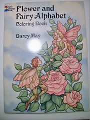 Flower and Fairy Coloring Book (Lynne M. B.) Tags: art illustration drawing coloring coloredpencils prismacolor coloringbook coloringadults