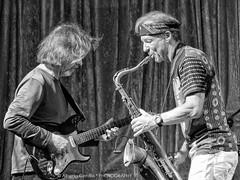 Dean Brown e Bill Evans al Giordano in Jazz - 2016 (albygent Alberto Gentile) Tags: jazz foggia giordano deanbrown billevans sax chitarra