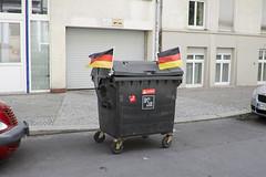 Mercedes Benz_2 (Vladimr Turner) Tags: germany flag nationalism mercedes stealing robbery action artr performance publicart urbanart culturejamming mathieutremblin euro 2016 dusseldorf berlin