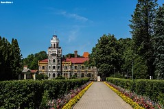 Castle of Sigulda (Mauro Hilrio) Tags: travel building castle monument colors beautiful architecture path latvia line