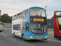 East Yorkshire 743 YX08FXE Hull Interchange on X46 (1280x960) (dearingbuspix) Tags: eastyorkshire eyms 743 yx08fxe wwwhullchildrensuniversitycom hullchildrensuniversity