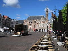 Market square with town hall in Haarlem (Beyond the grave) Tags: haarlem netherlands townhall marketsquare northholland