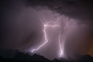 1607 Lightning over the Santa Catalina Mountains 03