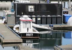 Booty Boat (~ Blu ~) Tags: reflection boat blu sidney