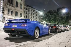 quad-turbo (muccrisp) Tags: blue classic cars car ss porsche bugatti supersport 918 carspotting weissach eb110
