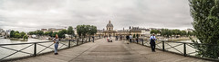 Pont des Arts (Alberto Grau) Tags: bridge paris france puente arts panoramic pont francia
