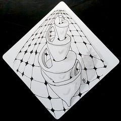 FlorzZavatarDuo (christiane_eichler) Tags: pen pencil ink drawing doodle tangle bleistift stift zeichnung zeichnen tusche zentangle