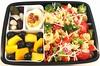 Pasta Salad Bento (Cathryn3) Tags: bento lunch salad pasta tomato redbellpepper redonion celery broccoli babycorn deviledegg pickle springonion olive mango blueberry