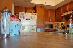 (K. Sawyer Photography) Tags: kitchen home house decor interiordesign straws cupcake cupboards refrigerator tile albuquerquenewmexico