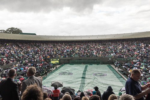 Venus Williams - Court No1 in the rain