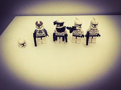 The Gone Member (The Spar7an) Tags: lego starwars clones