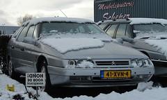 CiFo Nieuwjaarsmeeting 2016 - Sappemeer (Skylark92) Tags: citroen snow winter event xm break pallas v6
