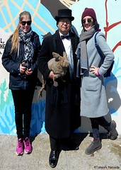 Dr. Takeshi Yamada and Seara (Coney Island Sea Rabbit) visited the Coney Island Polar Bear Club at the Coney Island Beach in Brooklyn, New York on April 3 (Sun), 2016. mermaid. merman. 20160403Sun DSCN4920=-1015pmC (searabbits23) Tags: searabbit seara  taxidermy roguetaxidermy mart strange cryptozoology uma ufo esp curiosities oddities globalwarming climategate dragon mermaid unicorn art artist alchemy entertainer performer famous sexy playboy bikini fashion vogue goth gothic vampire steampunk barrackobama billclinton billgates sideshow freakshow star king pop god angel celebrity genius amc immortalized tv immortalizer japanese asian mardigras tophat google yahoo bing aol cnn coneyisland brooklyn newyork leonardodavinci damienhirst jeffkoons takashimurakami vangogh pablopicasso salvadordali waltdisney donaldtrump hillaryclinton polarbearclub