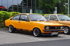 Opel Kadett Rallye 1.6S (1978) (Transaxle (alias Toprope)) Tags: garage10 garage meeting meetingpoint friends driving culture gelsenkirchen buer a52 wwwgarage10de nikon d90 auto autos amazing beauty beautiful bella bellamacchina cars car coches coche carros carro design iconic kraftwagen kraftfahrzeuge macchina macchine nikkor power powerful soul styling toprope voiture voitures world rearwheeldrive hot opel kadett 1978 1977 50v5f