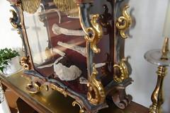 Schrei der seligen Ilga (Katholische Kirche Vorarlberg) Tags: ilga knochen reliquie