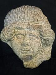 Terracotta antefix depicting the head of Medusa recovered at the Oppidum d'Enserune in southern France 3rd - 1st centuries BCE (mharrsch) Tags: antefix architecture female medusa myth head terracotta 3rdcenturybce 2ndcenturybce 1stcenturybce roman enserune oppidumdenserune archaeology archaeologicalsite celt fort hilltopfort oppidum france languedoc mharrsch