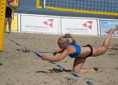18051559 (roel.ubels) Tags: belgium beach beachvolley beachvolleybal beachvolleyball volleybal volleyball sport topsport kwalificatie qualification 2016 knokke knokkeheist