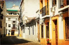 Dans le quartier de San Basilio, Cordoba, Andalucia, Espana (claude lina) Tags: claudelina espana spain espagne andalucia andalousie city town ville architecture cordoba cordoue rue street sanbasilio