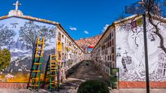 Cemetery in La Paz (ahakstun) Tags: cemetery lapaz elalto bolivia graveyard outdoor
