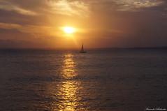 Farol da Barra - Salvador - Ba/Brasil (AmandaSaldanha) Tags: sunset barra salvador bahia brasil landscape paisagem nature natureza spring primavera sea barco boat sun sol sky cu colors colours