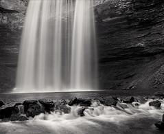 Decew (Joe Iannandrea) Tags: blackandwhite ishootfilm landscape waterfall mamiyarb67pros 90mmf38sekorc fujiacros pmkpyro epsonv500 decewfalls morningstar mill stcatharines ontario canada