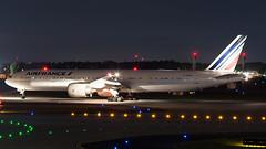 Air France 777-300ER (N77022) Tags: air france af afr boeing 77w 777300er 777 katl atl atlanta georgia airport hartsfield fgznj night takeoff