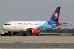 OM-BYA   Airbus A319-115(CJ)   Slovak Republic (cv880m) Tags: newyork kennedy jfk kjfk unga unweek unitednations generalassembly ombya airbus a319 319115 corporatejet slovakia slovakrepublic slovakgovernmentflyingservice