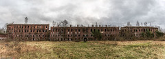Panorama-9172-7 (AntonyCASAFilms) Tags: urbex ue abandoned derelict decay fort military 19th century chartreuse