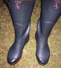 My Aigle wellies. Love them! (Hunter Wellies!!) Tags: