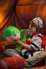 2 (haine.otomiya) Tags: free makoto arabian arabic tent plush green warm indoor shooting setting anime manga cute