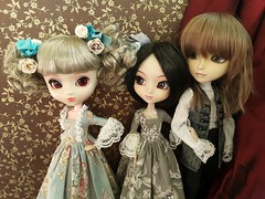 Stela, Nadia & Ivan (Lunalila1) Tags: doll groove junplaning pullip handmade outfit taeyang filato ivan kovalsky youtsuzu nadia stica stela ho