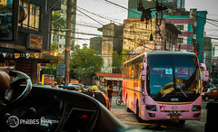 Engkwentro. (Naretev.) Tags: pink bus coach florida deluxe super airconditioned restroom hino equipped gv grandez p11c rm2p gd36