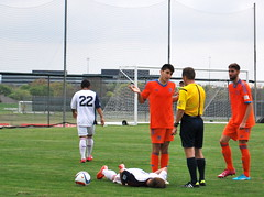 "RSL-AZ U-17/18 vs. Valencia CF • <a style=""font-size:0.8em;"" href=""http://www.flickr.com/photos/50453476@N08/16916145858/"" target=""_blank"">View on Flickr</a>"