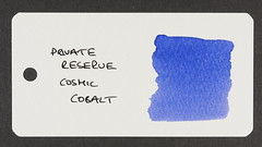 Private Reserve Cosmic Cobalt - Word Card