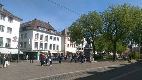 Schillerplatz in Mainz