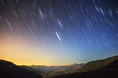 Angeles National Forest (Paolo Nacpil) Tags: california longexposure landscape losangeles nightscape startrails