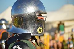 Chrome Dome (radargeek) Tags: oklahoma sca helmet norman ok reavespark normanmedievalfaire2015