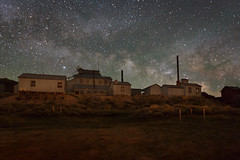 Milky Way Over Bodie's Standard Mill (Jeffrey Sullivan) Tags: california park copyright usa night canon photography photo state united may sierra historic workshop 25 bodie states eastern 2014 jeffsullivan bridegeport